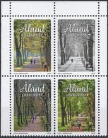 Aland / Finnland 2020 Stagioni / Jahreszeiten Mi-Nr. 489 - 492 - Aland