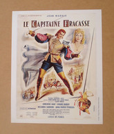 Affiche - Affichette - Poster Le Capitaine Fracasse, Avec Jean Marais, Geneviève Grad De Pierre Gaspard-Huit - Posters