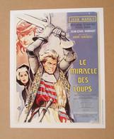 Affiche - Affichette - Poster Le Miracle Des Loups, Avec Jean Marais, Rosanna Schiaffino De André Hunebelle - Posters