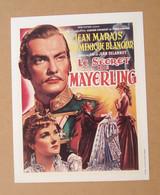 Affiche - Affichette - Poster Le Secret De Mayerling, Avec Jean Marais, Dominique Blanchar De Jean Delannoy - Posters