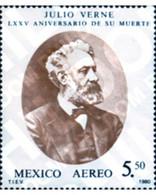 Ref. 182688 * MNH * - MEXICO. 1980. 75th ANNIVERSARY OF THE DEATH OF JULES VERNE . 75 ANIVERSARIO DE LA MUERTE DE JULIO - Sin Clasificación
