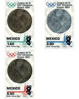 Ref. 26940 * MNH * - MEXICO. 1980. 22 OLYMPIC GAMES MOSCOW SUMMER 1980 . 22 JUEGOS OLIMPICOS VERANO MOSCU 1980 - Altri
