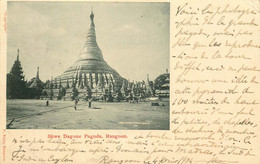 ASIE  BIRMANIE RANGOON  Pagoda - Myanmar (Burma)