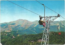 R4097 Abetone (Pistoia) - Skilift Scendendo Dal Monte Gomito - Panorama Col Cimone / Viaggiata 1962 - Altre Città