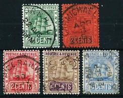 Guayana (Británica) Nº 96/7-107/9 Usado - Guayana Británica (...-1966)