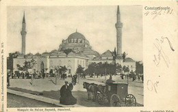 TURQUIE  CONSTANTINOPLE    Mosquée Du Sultan Bayazid Stamboul - Turkey