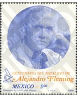 Ref. 183638 * MNH * - MEXICO. 1981. HUNDREDTH ANNIVERSARY OF THE BIRTH OF ALEXANDER FLEMING . CENTENARIO DEL NACIMIENTO - Sin Clasificación