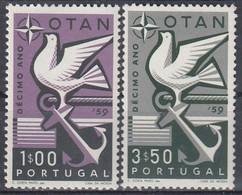 PORTUGAL 878-879,unused - Unused Stamps