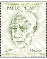 Ref. 257522 * MNH * - MEXICO. 1981. CENTENARY OF THE BIRTH OF PABLO PICASSO . CENTENARIO DEL NACIMIENTO DE PABLO PICASSO - Sin Clasificación