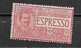 20164) ITALIA-Espresso Tipo Floreale - ESPRESSI - 1 Giugno 1903   SERIE COMPLETA-MNH** - Correo Urgente