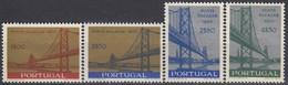 PORTUGAL 1008-1011,unused,bridges - Unused Stamps