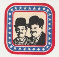Sticker Stan Laurel & Oliver Hardy - Pegatinas