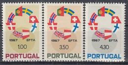 PORTUGAL 1043-1045,unused - Unused Stamps