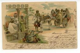 Cartolina Il Cairo 1900 Viaggiata Gruss Egitto - Non Classificati