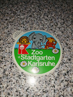 Autocollant Du Zoo De Karlsruhe - Pegatinas