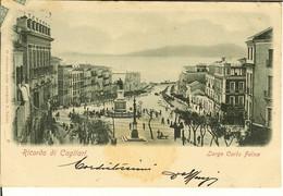 """CP De Ricordo Di CAGLIARI """" Largo Carlo Felice """" - Cagliari"""