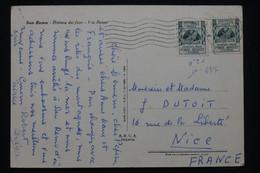 ITALIE - Affranchissement De Saint Remo Sur Carte Postale En 1953 Pour Nice - L 100107 - 1946-60: Marcofilia