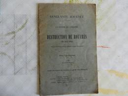 SANGLANTE JOURNEE DESTRUCTION DE ROUVRES MEUSE 24 AOUT 1914 GUERRE EN LORRAINE - War 1914-18