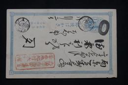 JAPON - Entier Postal Voyagé , à Voir - L 100113 - Postcards