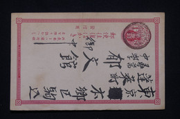 JAPON - Entier Postal Voyagé, à Voir - L 100120 - Postcards