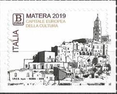 2019 Italien Mi. 4093 *MNH   Matera – Kulturhauptstadt Europas 2019 - 2011-...:  Nuevos