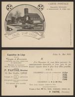 Carte Postale - Exposition Universelle De Liège 1905 : Voyages Et Excursions / Prix Des Chambres - Liège