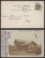 Carte Postale Type Photo - Exposition Universelle De Liège (1905) : Le Pavillon De La Norvège - Liège