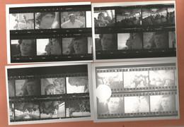 Photographies Lot 4 Photos Multi Vues Film , Photo 9x12,7 Cm Env - Anonymous Persons