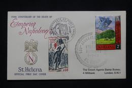 NAPOLÉON - Enveloppe FDC En 1971 De Ste Hélène - L 100126 - Napoleón