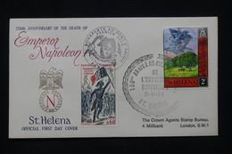 NAPOLÉON - Enveloppe FDC En 1971 De Ste Hélène - L 100127 - Napoleón