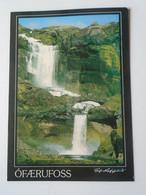 D180283  Iceland Island  -  Waterfall Ófaerufoss - Islandia