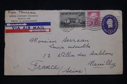 ETATS UNIS - Entier Postal De L 'Orchestre Symphonique + Compléments De Boston Pour La France En 1958 - L 100131 - 1941-60