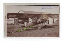 PHOTO ALBUMINE - AVIATION - AVION GOURDOU AU SOL - Aviation