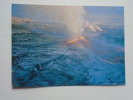 D180285    Iceland Island  -   Volcano KRAFLA  Fissure Eruption 1977 - IJsland