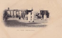 B6- TUNIS  (TUNISIE) PLACE BAB SOUIKA  - ( EDIT. D'AMICO , TUNIS - 2 SCANS ) - Tunesië