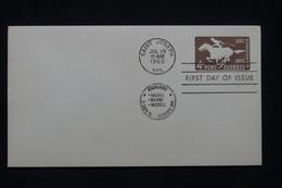 ETATS UNIS - Entier Postal Avec Oblitération FDC En 1960 - L 100133 - 1941-60
