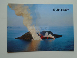 D180286     Iceland Island  -   Volcano  SURTSEY -Island SURTSEY, Created By A Submarine Eruption  That Started In 1963 - IJsland