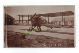 PHOTO ALBUMINE - AVIATION - AVION NIEUPORT-DELAGE 29 AU SOL - Aviation