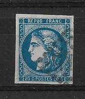 FRANCE  N° 46B       OBLITERE - 1870 Ausgabe Bordeaux