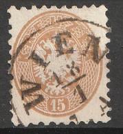 Österreich, Austria  1863 15Kr.  MiNr. 34 Gestempelt - Usados