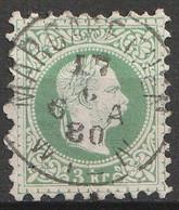 Österreich, Austria  1863 3Kr. MiNr. 36 IIA MARGARETHEN Super Gestempelt - Usados