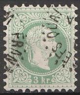 Österreich, Austria  1863 3Kr. MiNr. 36 IIA Sehe Stempel - Usados