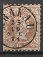 Österreich, Austria  1867 15Kr.  Grober Druck MiNr. 39 IA Krakau - Usados