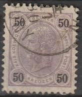 Österreich, Austria  1890 50 Kreuzer Gez. 11,5  MiNr. 60 - Usados