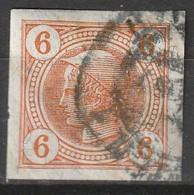 Österreich, Austria  1901 6 H Lackstreifen   MiNr. 102 Vollrandig - Used Stamps