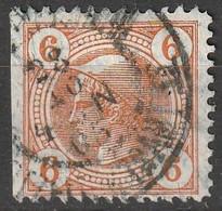 Österreich, Austria  1901 6 H Lackstreifen   MiNr. 102 Gez. 11 !! - Used Stamps