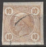 Österreich, Austria  1901 10 H Lackstreifen   MiNr. 103 Vollrandig - Used Stamps