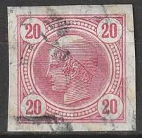 Österreich, Austria  1901 MiNr. 104 Mit Lackstreifen - Vollrandig - Used Stamps