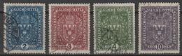 Österreich, Austria  1916 MiNr. 200-203 Gestempelt. TB - Used Stamps
