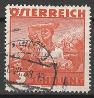 Österreich, Austria  1934 Mi. 586 Gestempelt. - Errors & Oddities